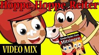 Hoppe, Hoppe Reiter | Kinderlieder zum mitsingen Video Mix | Top 6 German Nursery Rhymes