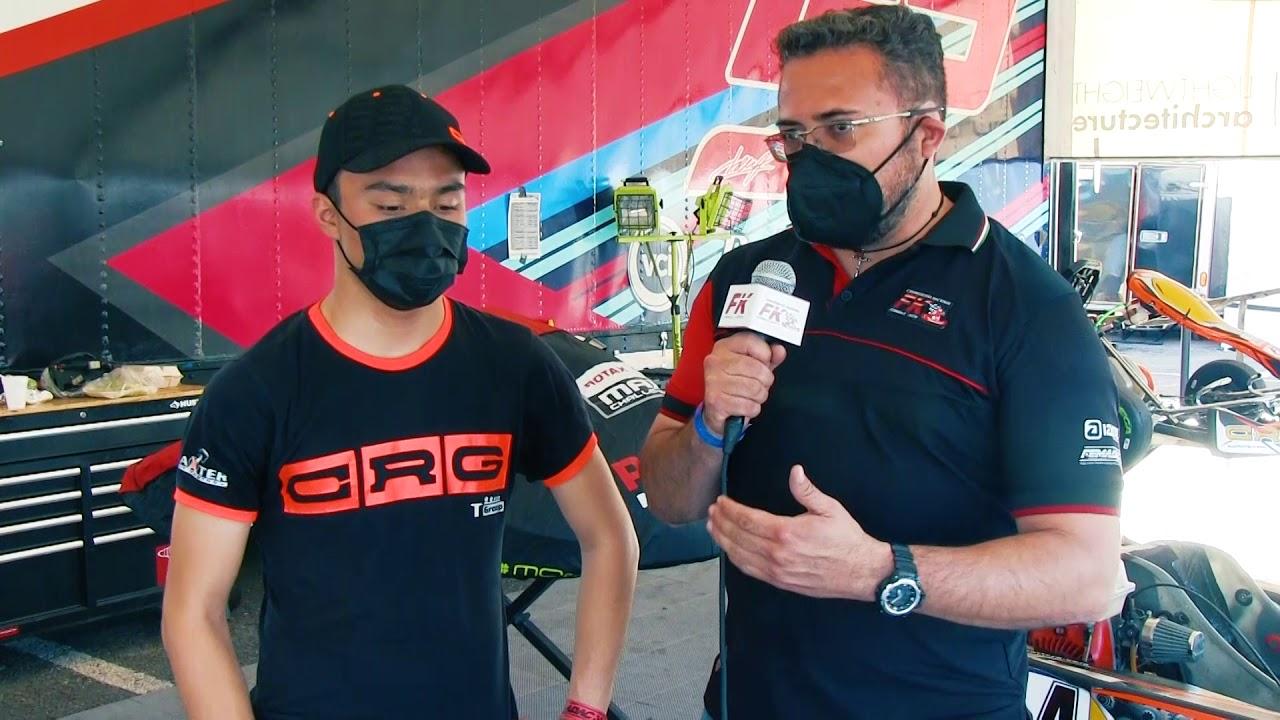 Entrevista Noel León Fecha 1 Fórmula Karts 2021