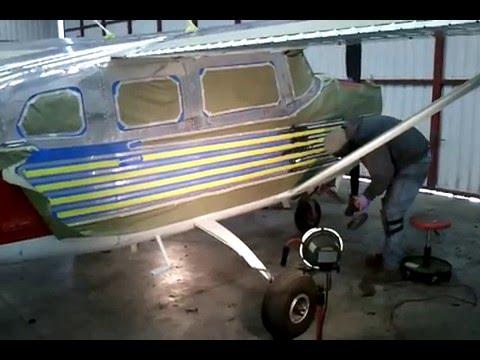 cessna 206 aluminum polishing by norcal wing waxers youtube