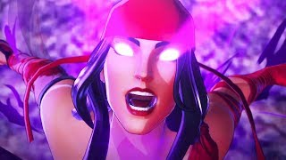 ELEKTRA Boss Fight - Marvel Ultimate Alliance 3: The Black Order @ 1080p ᴴᴰ ✔
