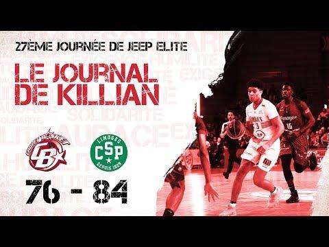 Cholet Basket - Limoges: Le Journal de Killian