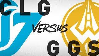 CLG vs. GGS - Week 9 Day 2   NA LCS Summer Split   Counter Logic Gaming vs. Golden Guardians (2018)