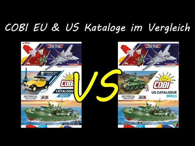 COBI Europäischer & Amerikanischer Katalog im Vergleich (EU Vs. USA, COBI Analyse 2)