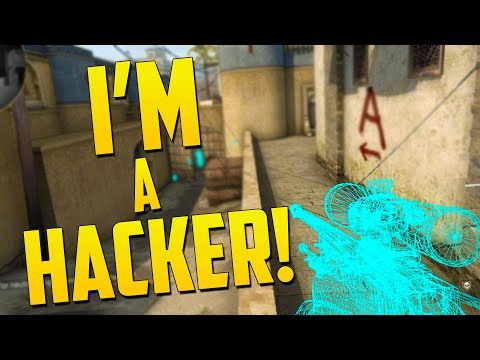 I'M A HACKER! - CS GO Funny Moments in Competitive