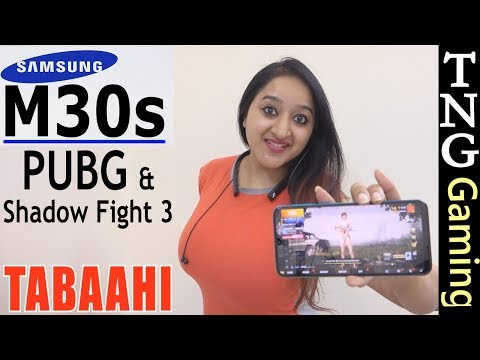 Samsung Galaxy M30s - Extreme Gaming (PUBG) Performance , Heating & Battery