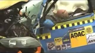 Crash test FIAT500 VS Audi Q7