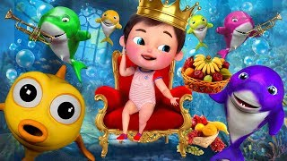 Baby Shark , Happy Birthday Song , Wheels on the Bus , Johny Johny Yes Papa , ABC Songs [HD]