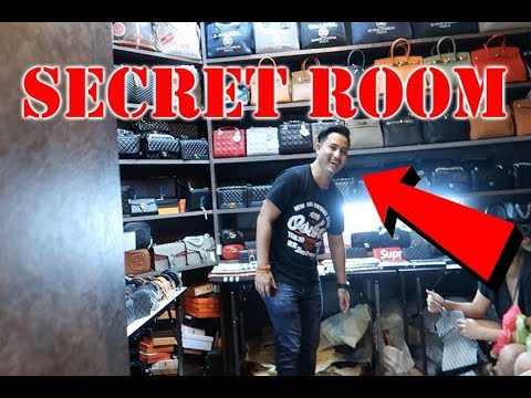 ILLEGAL BANGKOK HIDDEN DESIGNER STORE (SECRET ROOM BEHIND BOOKSHELF)