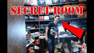 ILLEGAL BANGKOK HIDDEN DESIGNER STORE (SECRET ROOM BEHIND BOOKSHELF)