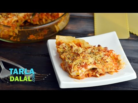 Vegetable Lasagne by Tarla Dalal
