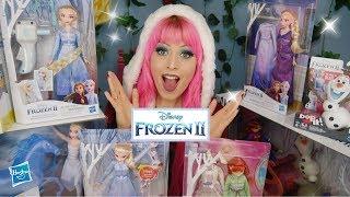 New FROZEN 2 Toys & Dolls by Hasbro!