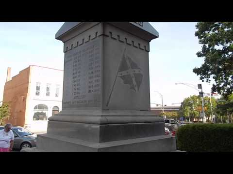 Union County, North Carolina's CS Monument and old courthous