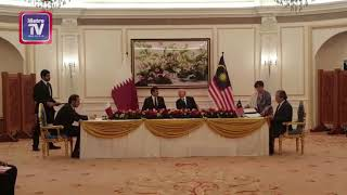 Empat MoU Malaysia-Qatar dimeterai