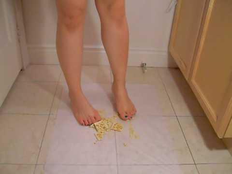 Barefoot trample videos