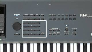 Korg Kronos Music Workstation Video Manual Part 1- Introduction and Navigation