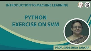 Python Exercise on SVM