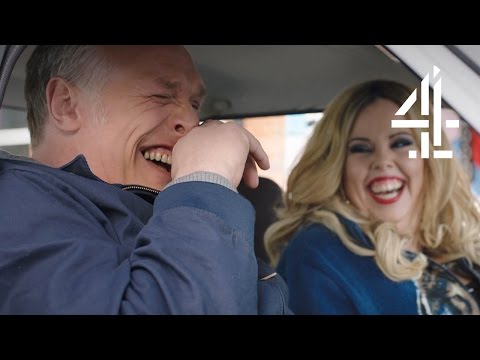 Greg Davies And Roisin Conaty Lose It In The Car | Man Down | Series 3 Episode 1 (Outtakes)