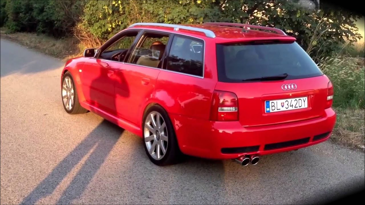 Audi Rs4 2001 Audi B Best Of Exhaust Sound Compilation