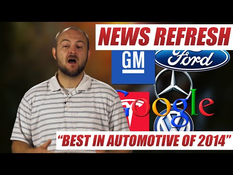 Top Automotive News of 2014 : Recap and Review