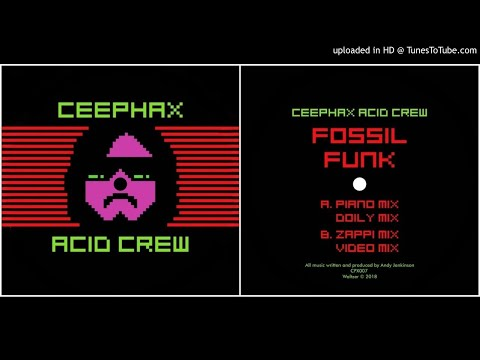 Ceephax Acid Crew - Fossil Funk Video Mix [Fossil Funk EP]
