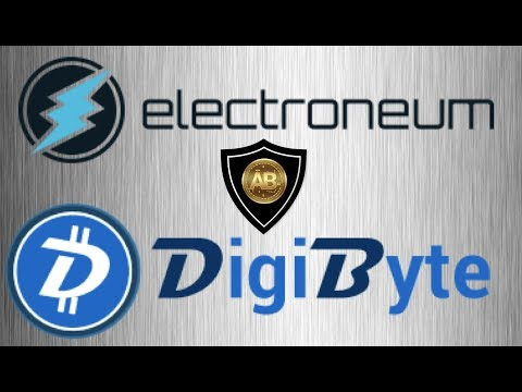Altcoin Comparison Between Electroneum ETN and  Digibyte DGB