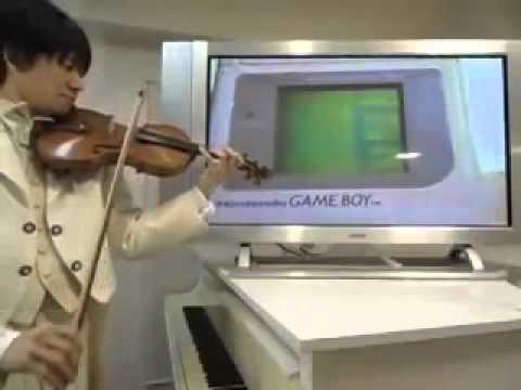 電池切れかけGBのテトリスをバイオリンで演奏してみた