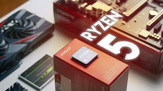 Upgrading a 10-year old system w/ RYZEN 5!