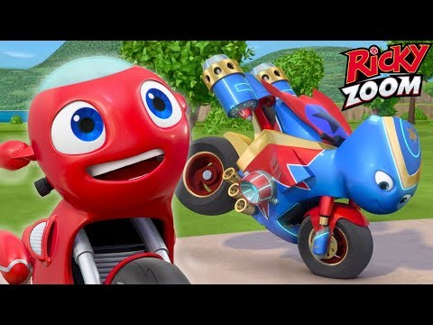 Double Episode Special ❤️ Ricky Zoom ⚡Cartoons for Kids | Ultimate Rescue Motorbikes for Kids