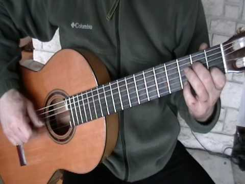 Streets of Laredo simple fingerstyle guitar