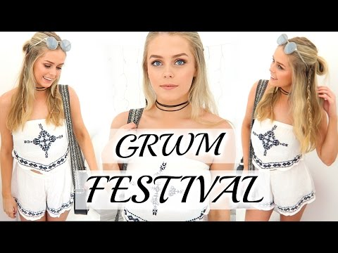 Get Ready With Me - Music Festival