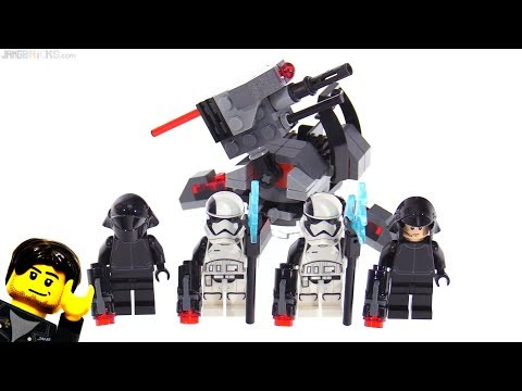 LEGO Star Wars First Order Specialists Battle Pack review! 75197
