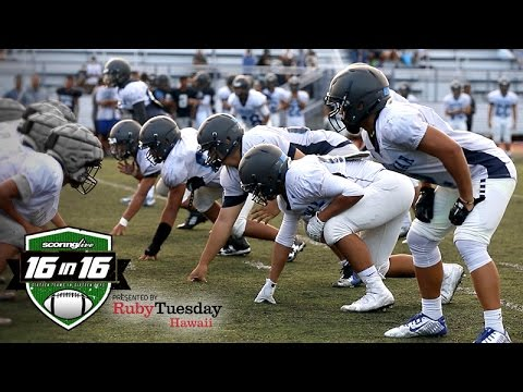 ScoringLive 16in16: Kamehameha-Hawaii Warriors (2016)