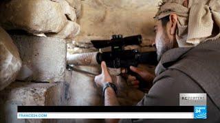 EXCLUSIF - Sur la ligne de front contre le groupe Etat Islamique avec les combattants du PKK