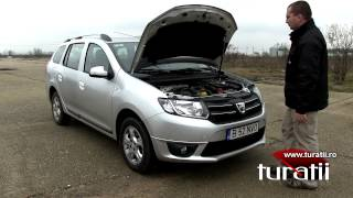 Dacia Logan MCV 2013 Videos