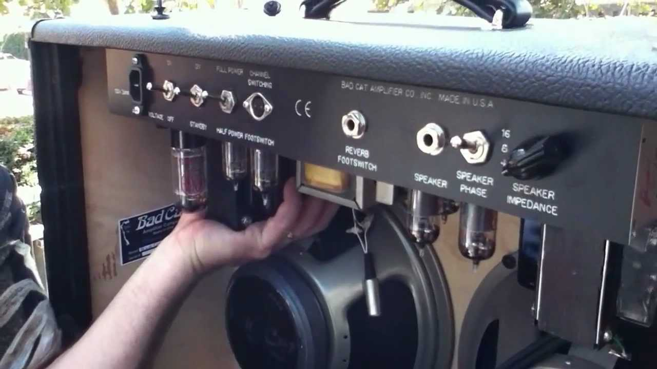 How To Remove A Guitar Amp Chassis From Combo Amplifiers Video By ...