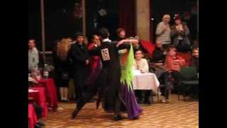 BALLROOM DANCE - SLOW FOXTROT (COMPETITION, Lviv, Romantic) 2008-02-17