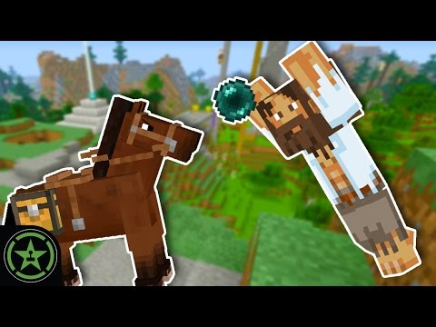 Let's Play Minecraft – Episode 250 – Mo'Chievements: Horsin'