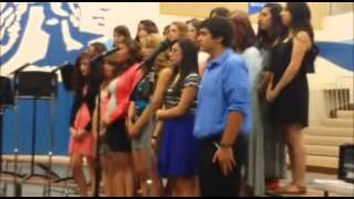 Manson High School Choir May 19th 2014 - Music Director, Matt Brown