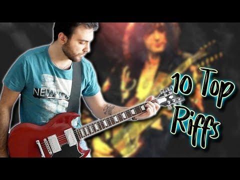 Top 10 Riffs Of Each Decade - Part2. 70's