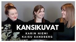 YA-kirjojen kannet | Vieraana Karin Niemi & Kaisu Sandberg