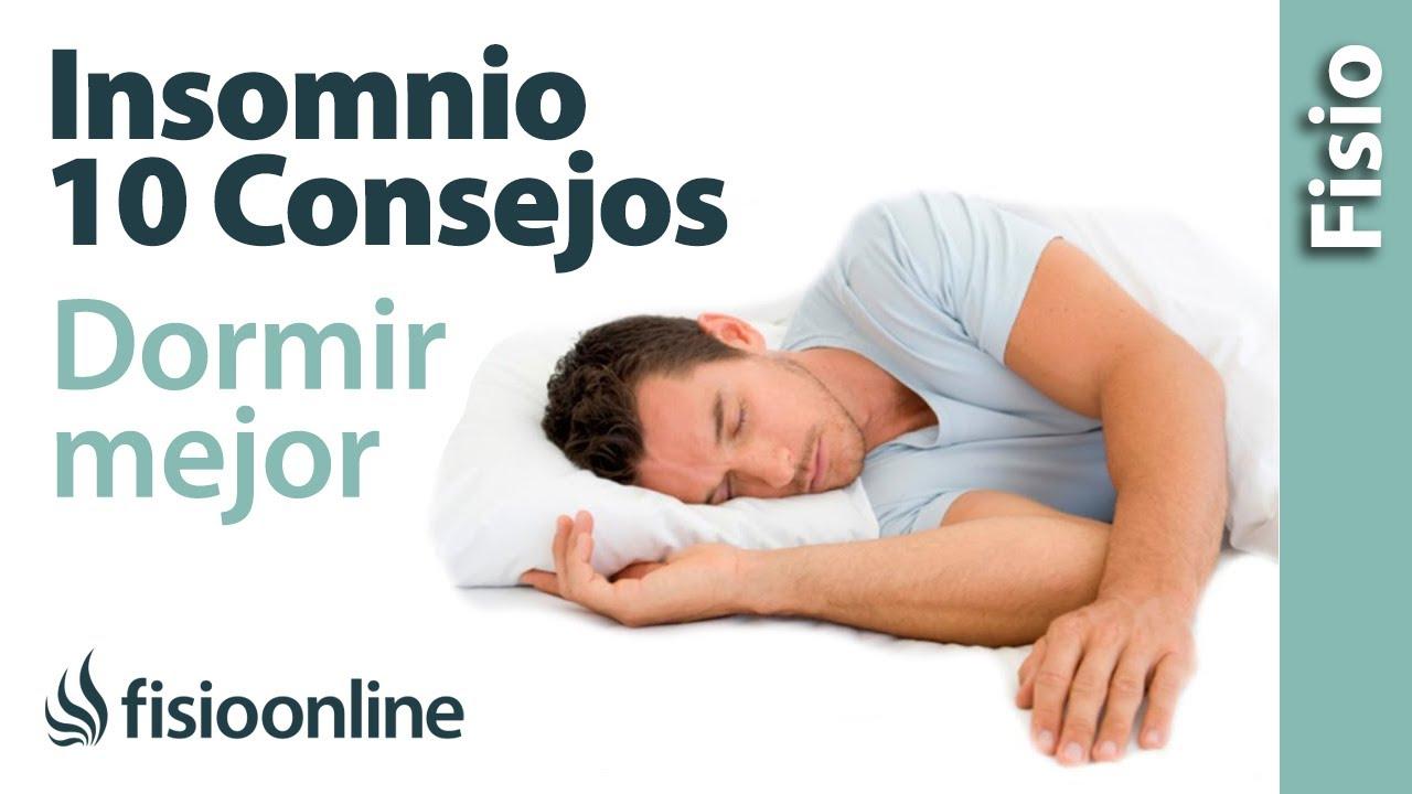 10 consejos para dormir bien y mejorar el insomnio - YouTube 103c25bb5ef0