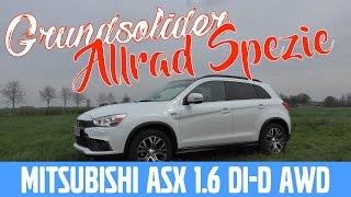 Mitsubishi ASX 1.6 DI-D AWD -  Test, Review und Fahrbericht / Testdrive