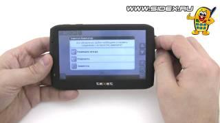 видео Навигатор Тексет X13-12056