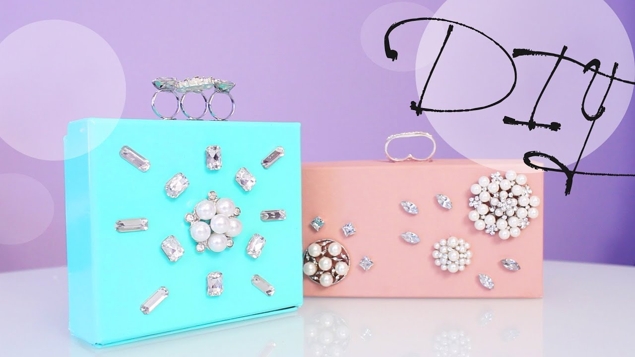 Diy Jewelry Clutch Box Great Gift Idea Anneorshine