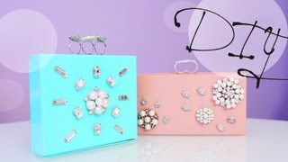 Diy Jewelry Clutch Box - Great Gift Idea | Anneorshine