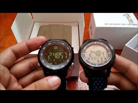Makibes EX18 smartwatch vs No.1 F3 Smartwatch