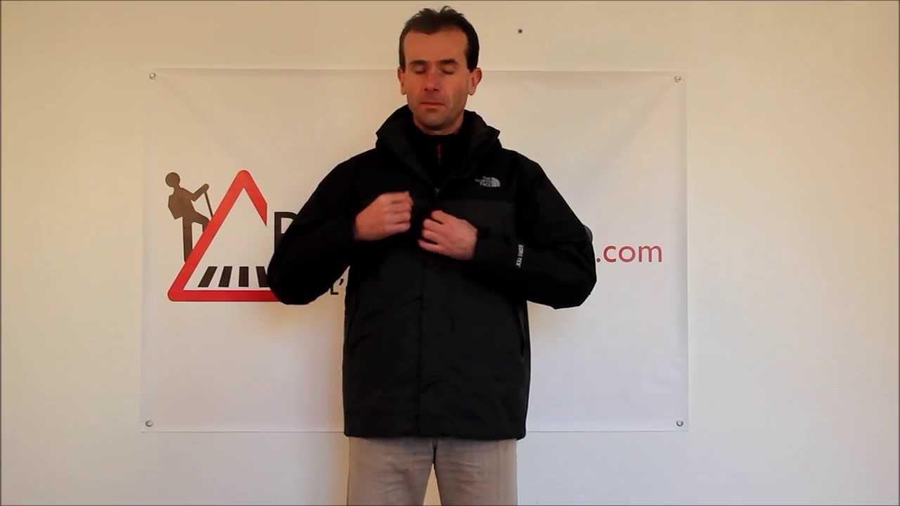 RayonRando.com   Test de la veste Mountain Light Triclimate de The North  Face 435a2f311bd5