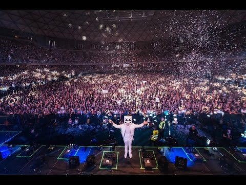 Marshmello – Lollapalooza Live Santiago,Chile