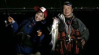 愛知県は衣浦湾でのシーバスを河原さゆりが小沼正弥さんに教わります シ...