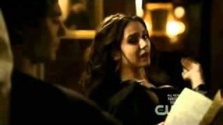 TVD 2x16 - Damon and Katherine Scenes Part 2